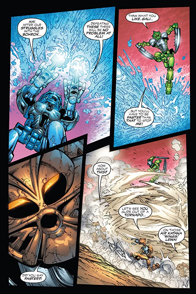 click for super-sized previews of Bionicle Vol. 2: Preview