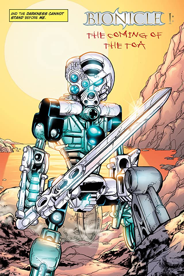 click for super-sized previews of Bionicle Vol. 1