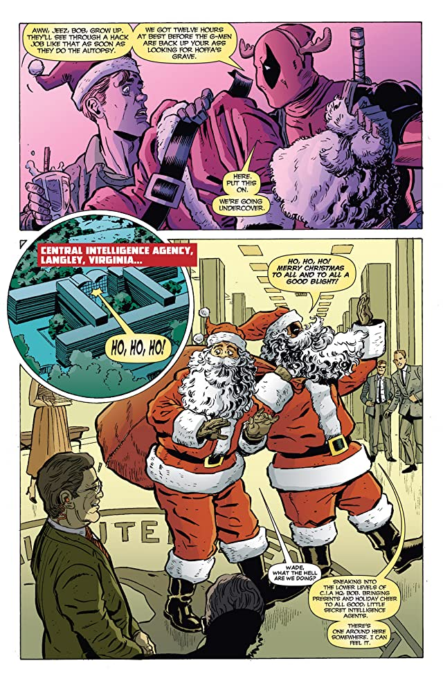 click for super-sized previews of Deadpool Max: X-Mas Special #1