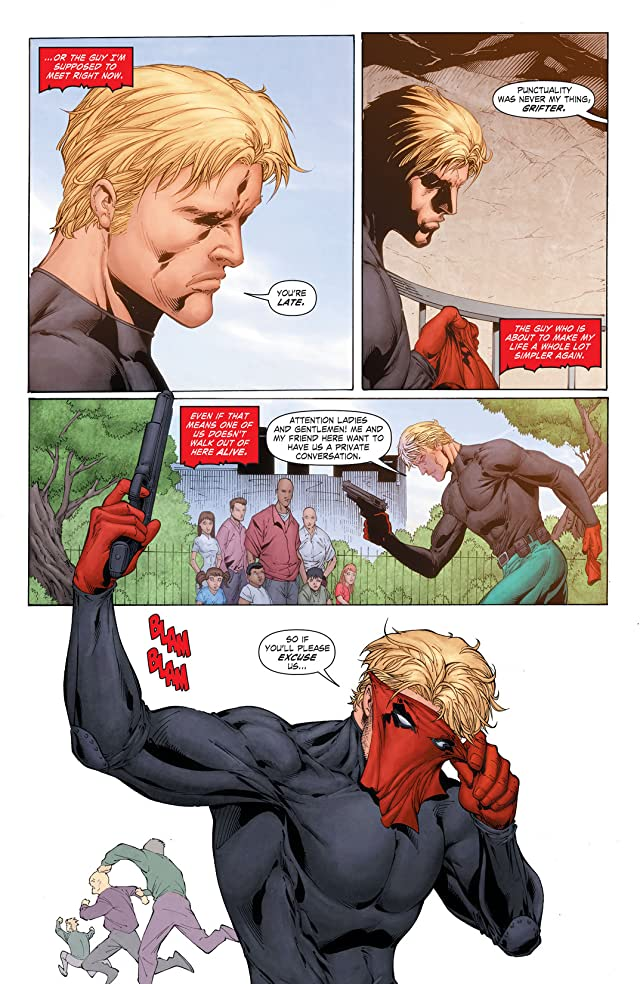click for super-sized previews of Grifter (2011-2013) #16