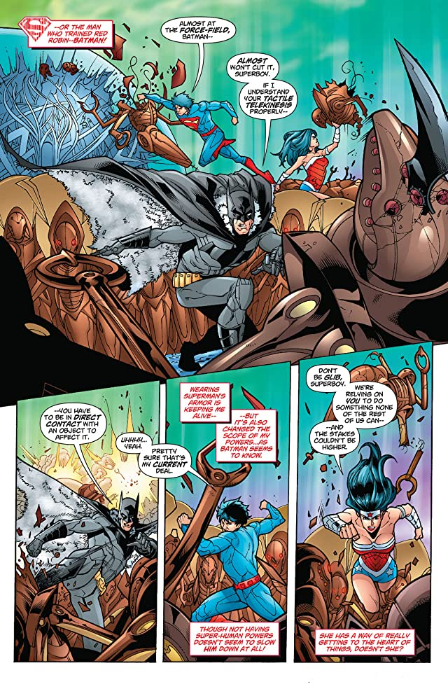 click for super-sized previews of Superboy (2011-2014) #16