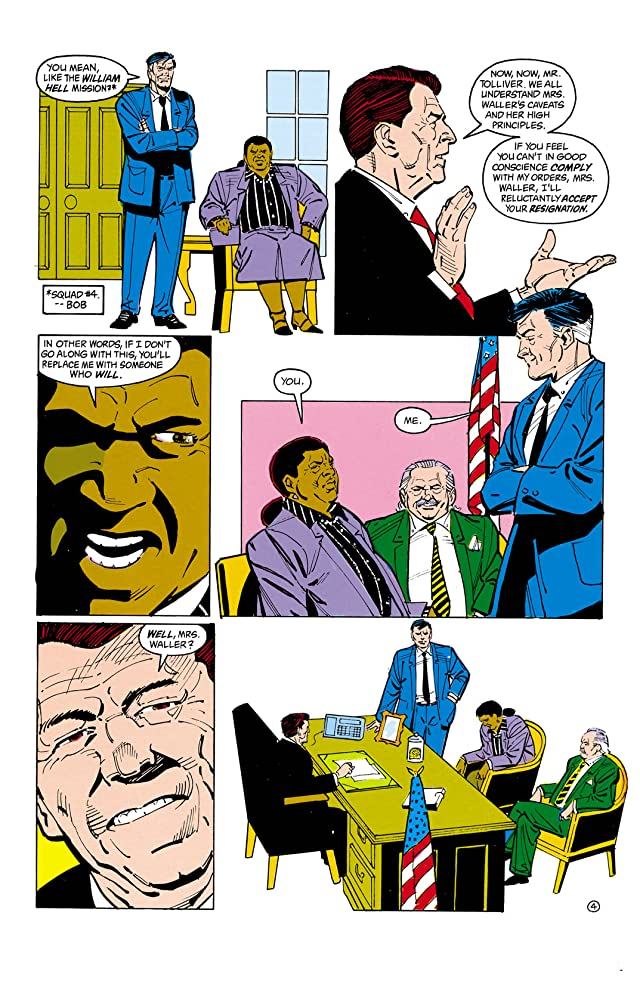 click for super-sized previews of Suicide Squad (1987-1992) #14