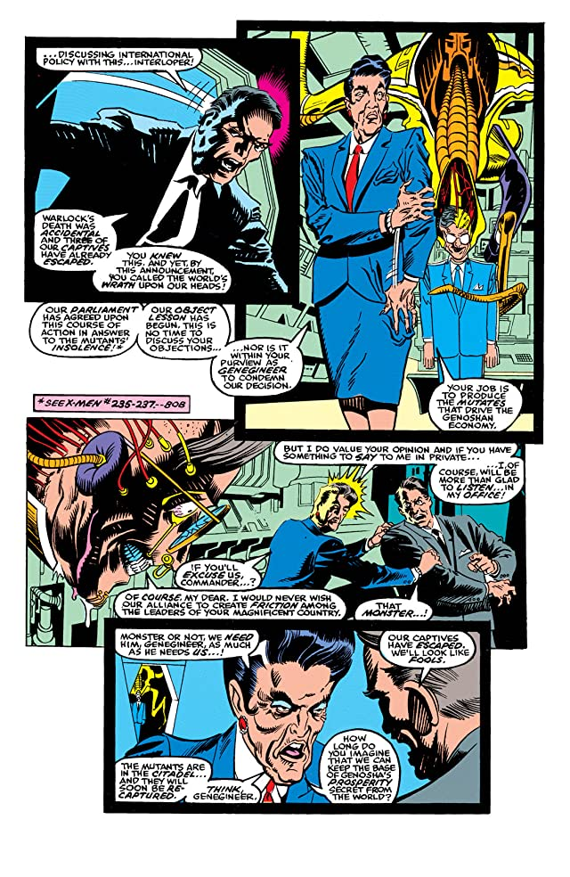 click for super-sized previews of X-Factor (1986-1998) #60