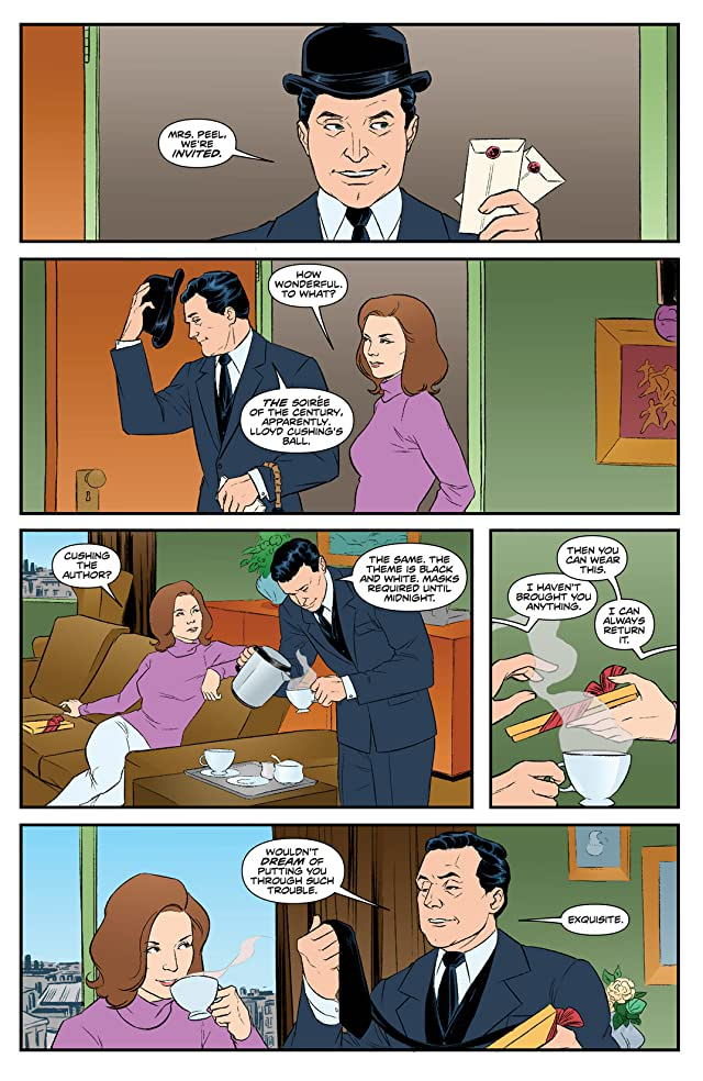 Steed and Mrs. Peel: Ongoing #4