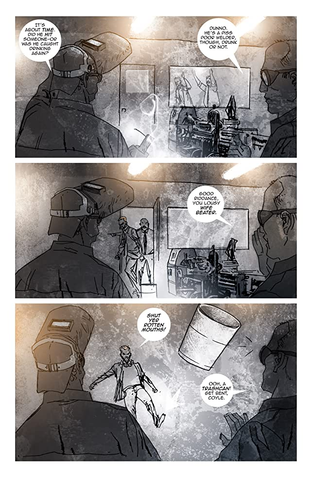 click for super-sized previews of The Light #1