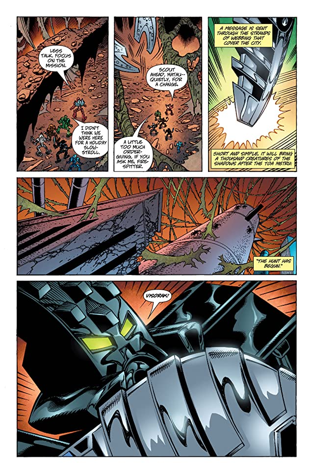 click for super-sized previews of Bionicle Vol. 4