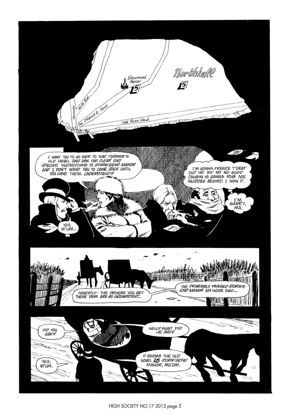 Cerebus Vol. 2 #17: High Society