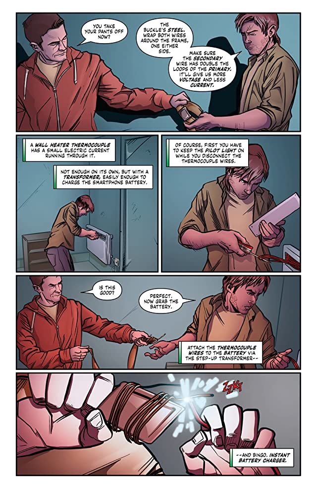 click for super-sized previews of Macgyver: Fugitive Gauntlet #4