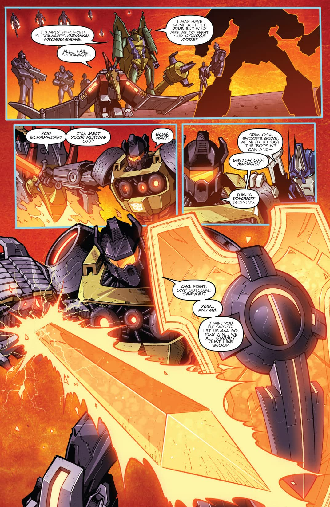 Transformers: Prime - Rage of the Dinobots #3 (of 4)