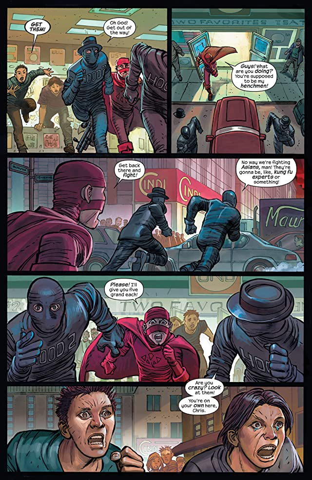 click for super-sized previews of Hit-Girl #3