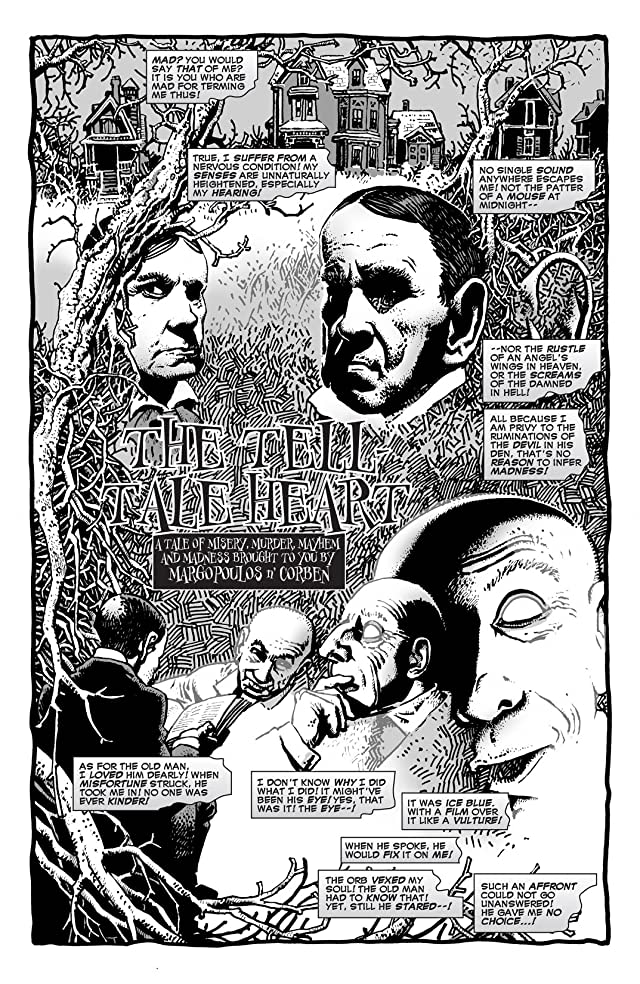 click for super-sized previews of Haunt Of Horror: Edgar Allan Poe #2