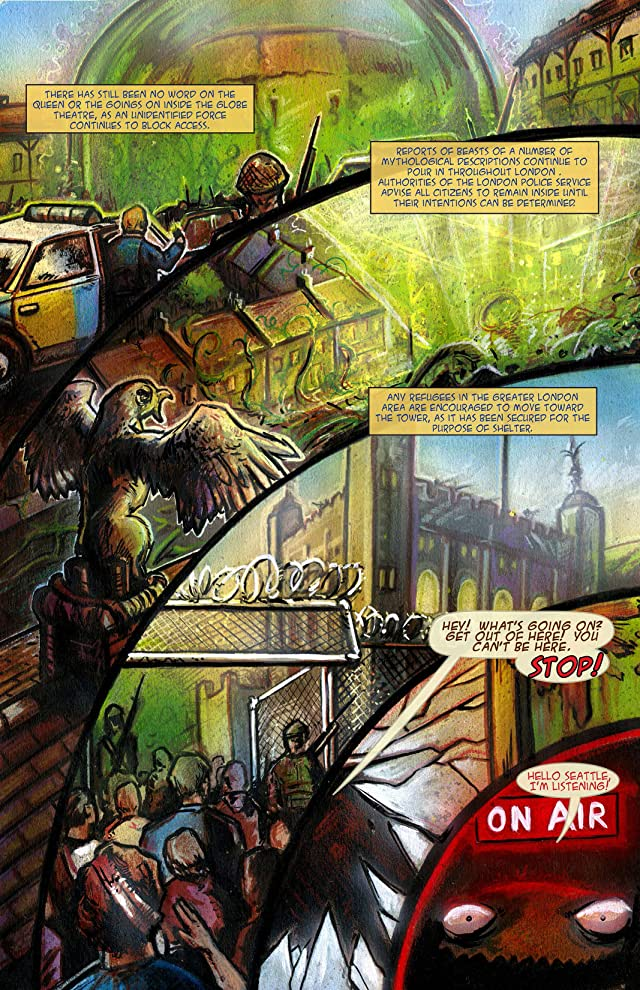 click for super-sized previews of The Order of Dagonet #2