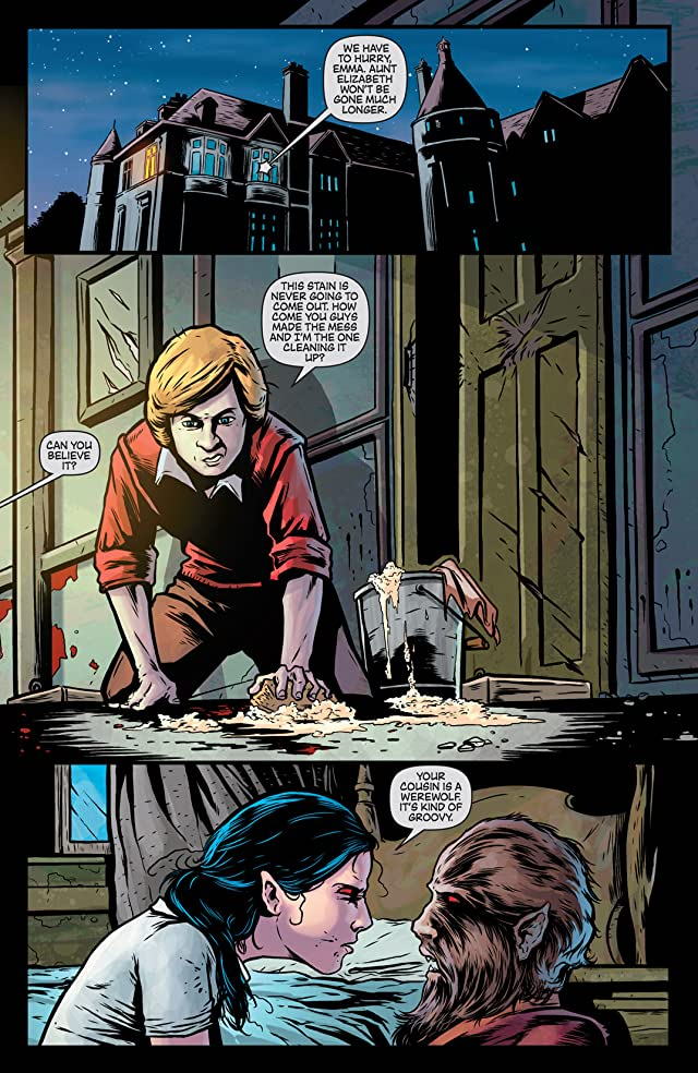 click for super-sized previews of Dark Shadows (Ongoing) #13
