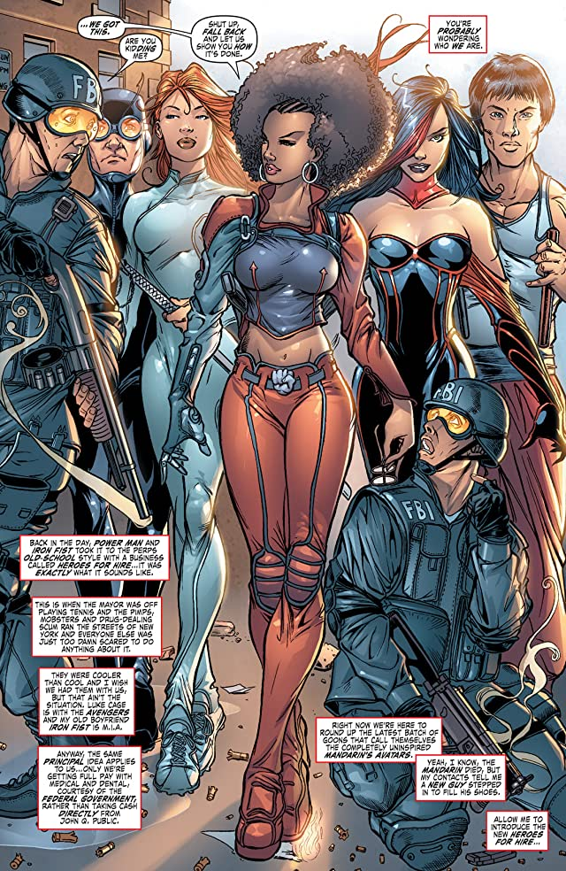 click for super-sized previews of Heroes For Hire (2006-2007) #1