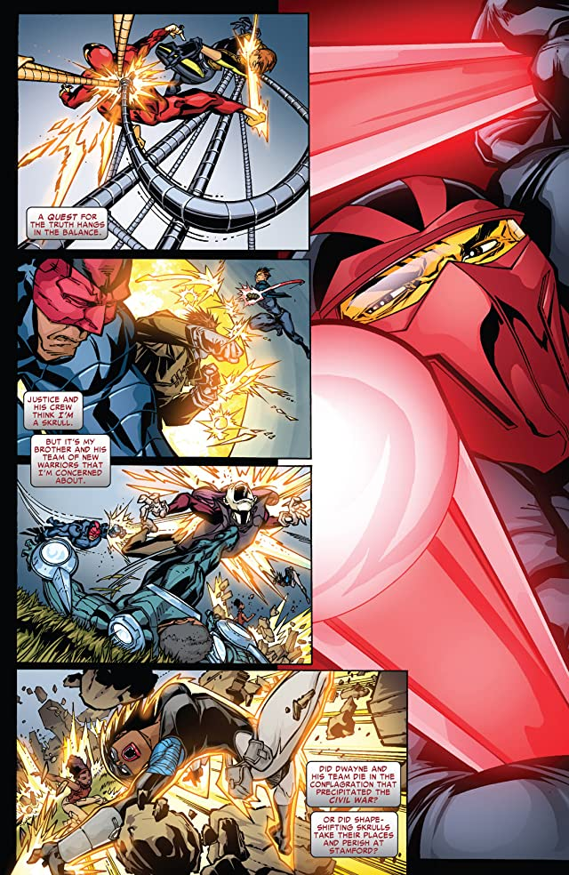 click for super-sized previews of New Warriors (2007-2009) #15