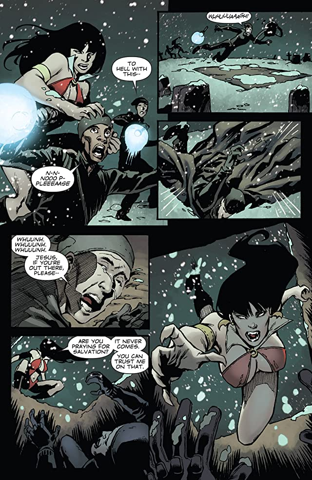click for super-sized previews of Vampirella #26