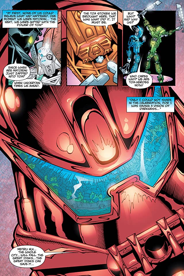 click for super-sized previews of Bionicle Vol. 3