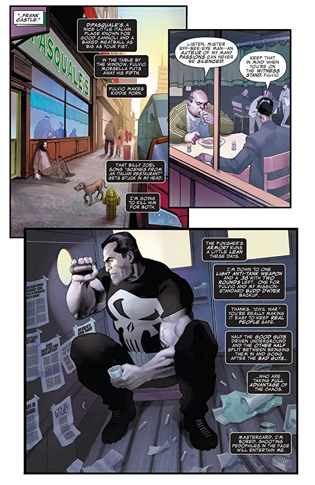 click for super-sized previews of Punisher War Journal (2006-2009) #1