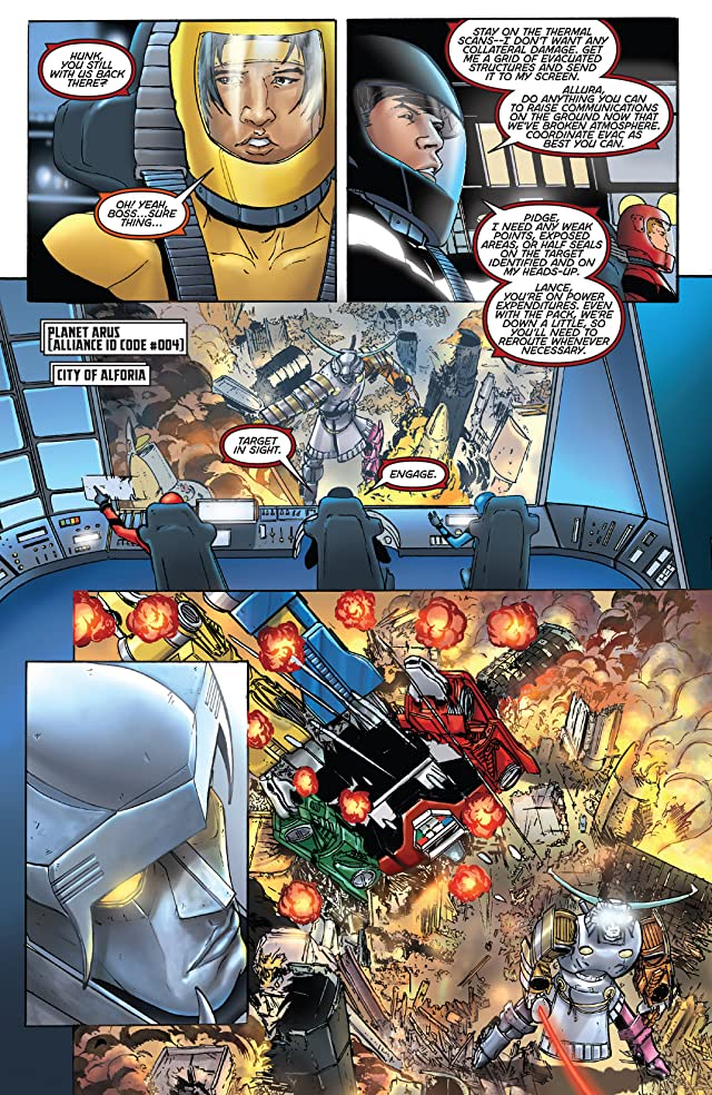 click for super-sized previews of Voltron #10