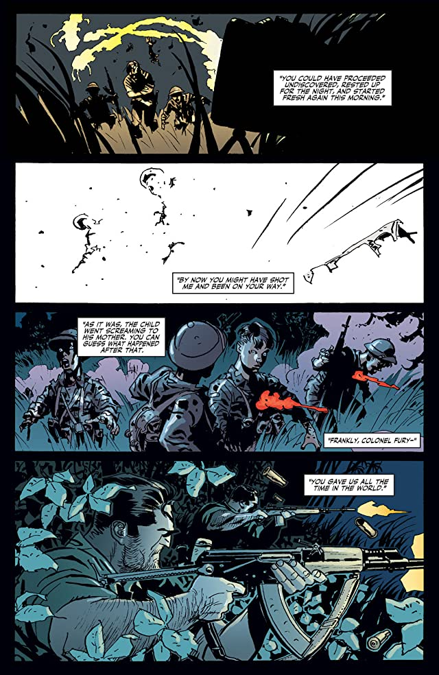 click for super-sized previews of Fury Max #8