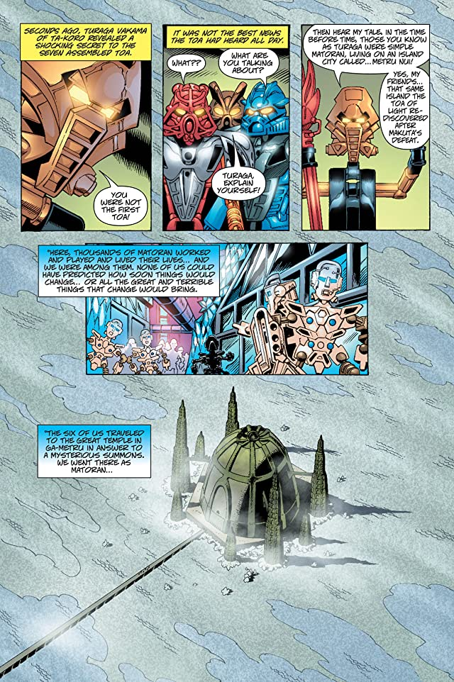 click for super-sized previews of Bionicle Vol. 3: Preview