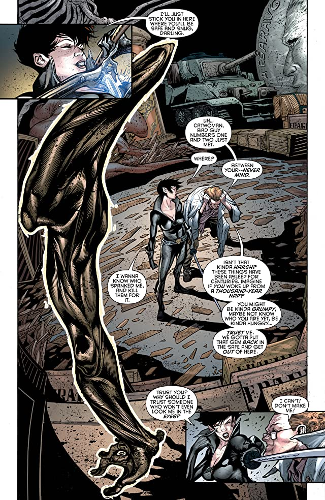 click for super-sized previews of Catwoman (2011-) #16