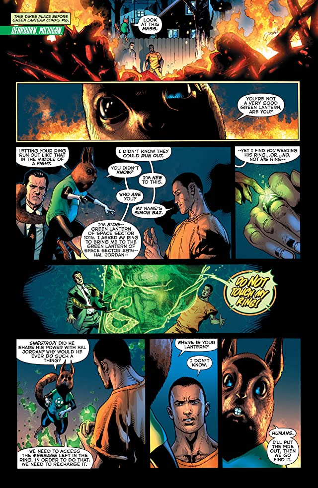 click for super-sized previews of Green Lantern (2011-) #16