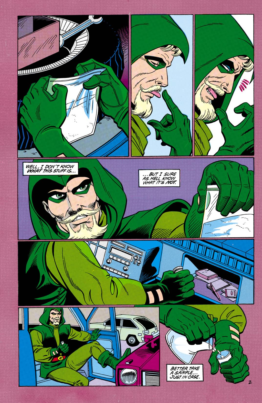 Green Arrow (1988-1998) #8