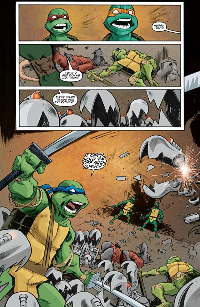 Teenage Mutant Ninja Turtles #8
