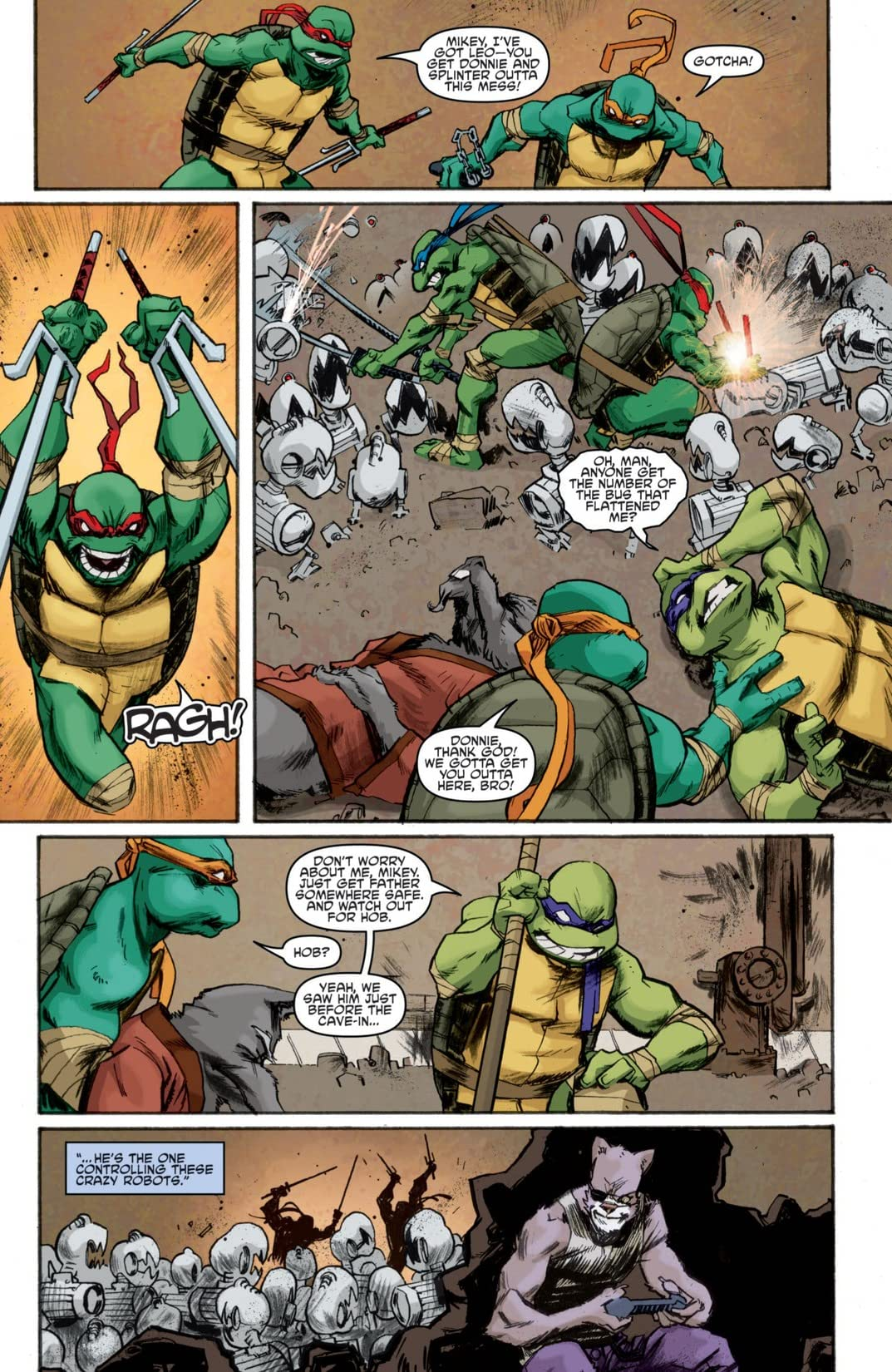 Teenage Mutant Ninja Turtles #8