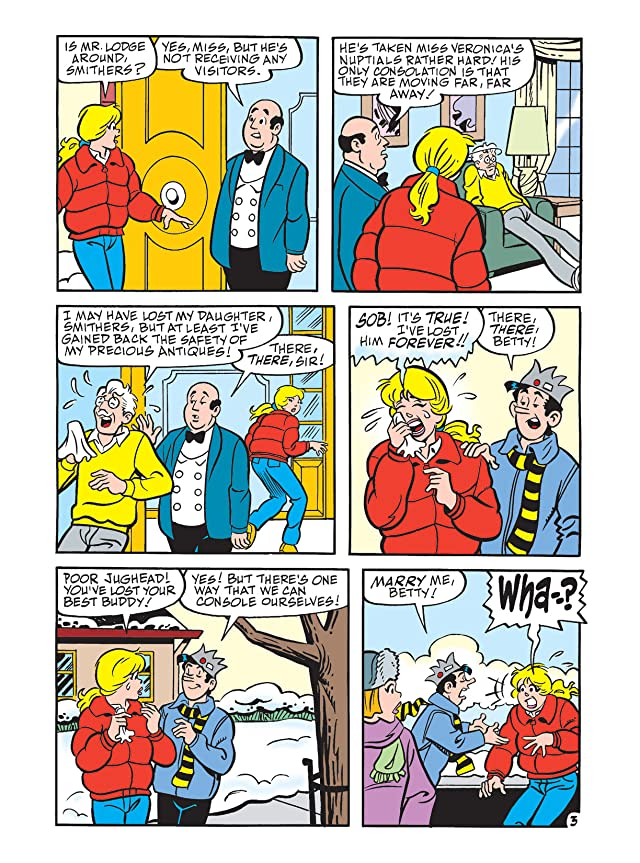 Betty & Veronica Double Digest #208
