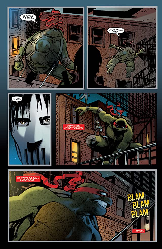 click for super-sized previews of Teenage Mutant Ninja Turtles Micro Series #1: Raphael