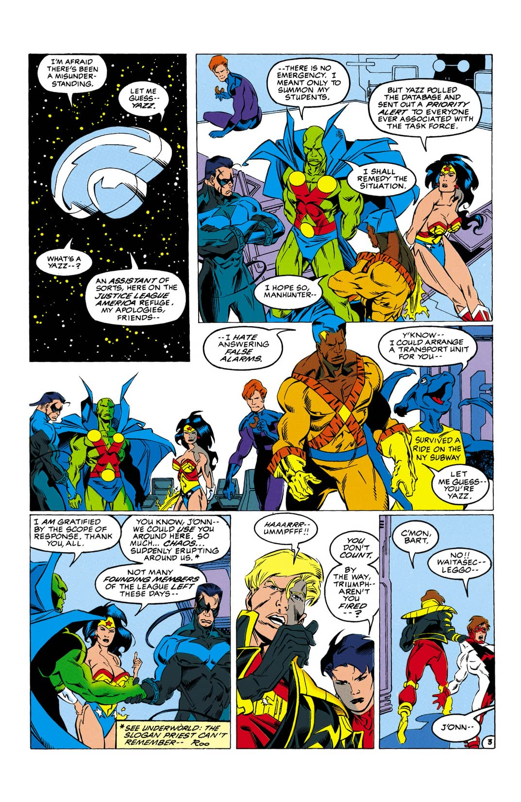 Justice League Task Force (1993-1996) #30