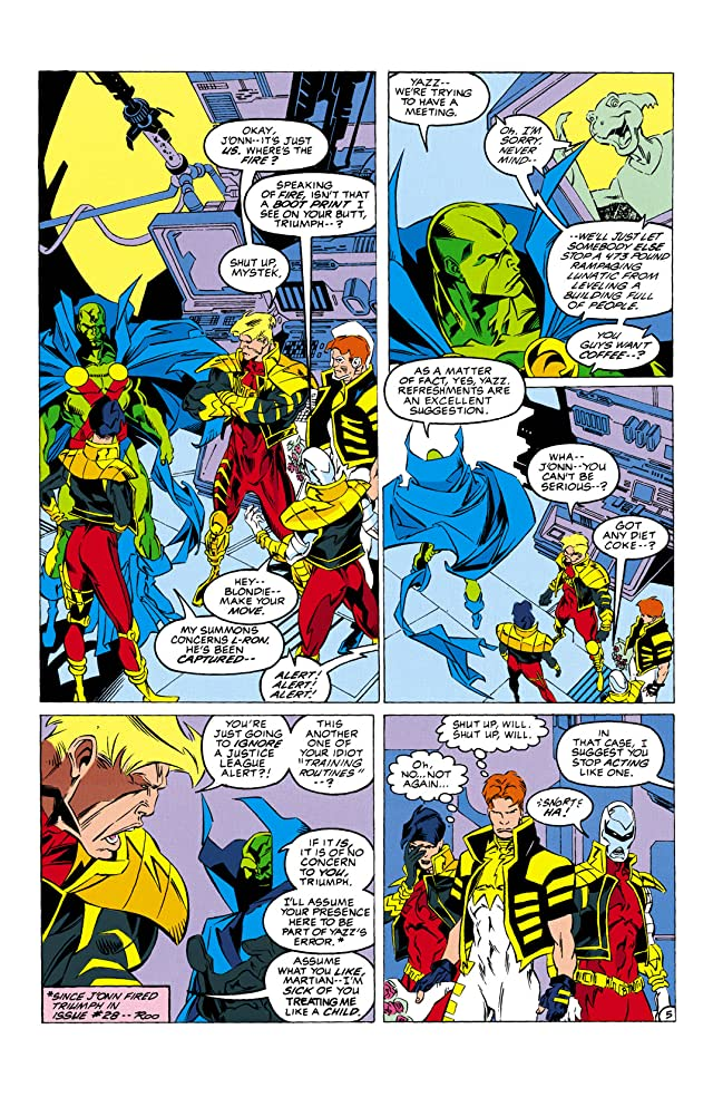 click for super-sized previews of Justice League Task Force (1993-1996) #30