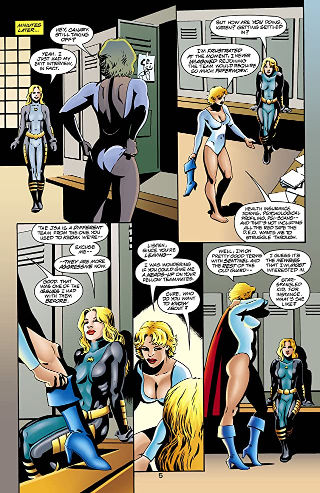 click for super-sized previews of JSA (1999-2006) #32