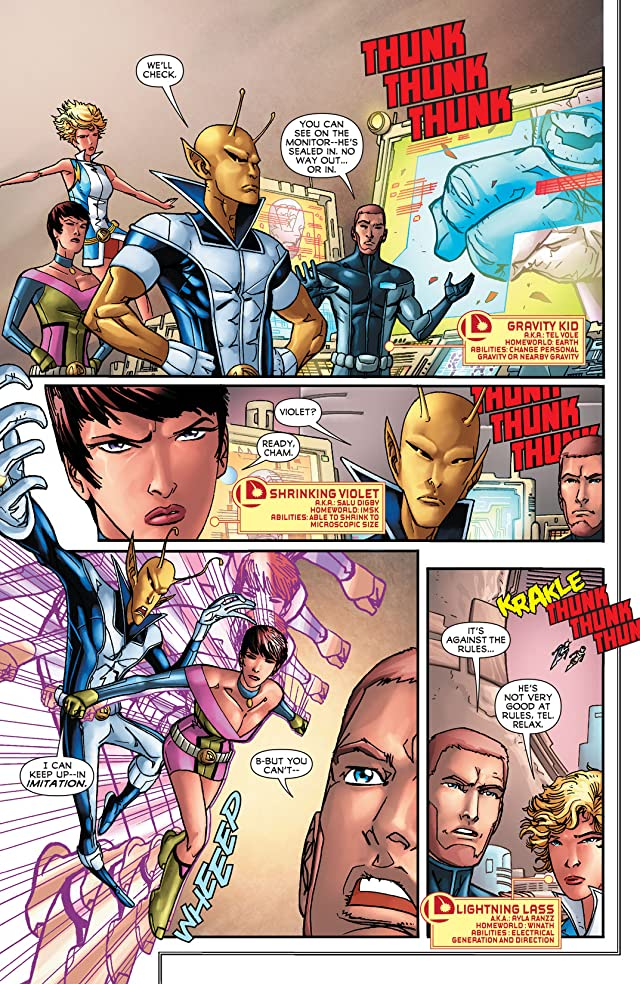 click for super-sized previews of Legion of Super-Heroes (2011-2013) #16