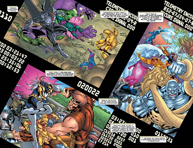 click for super-sized previews of Thunderbolts (2006-2012) #104