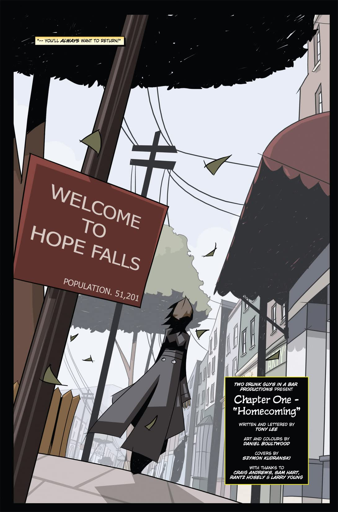 Hope Falls #1 (of 5)