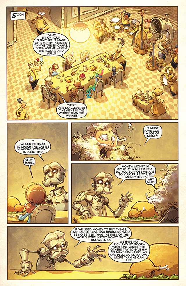 click for super-sized previews of Road To Oz #5