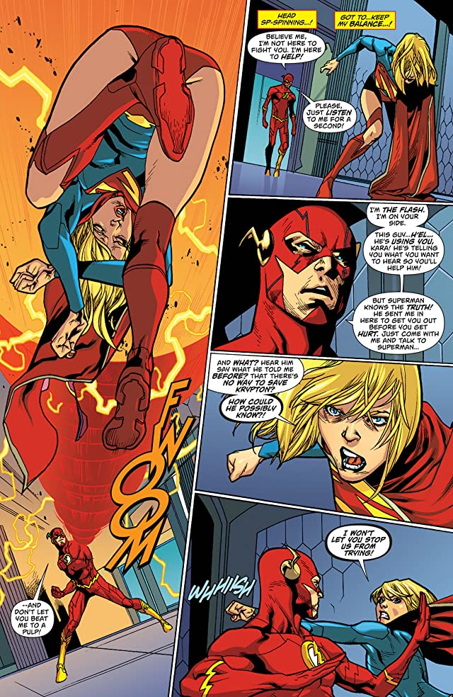click for super-sized previews of Supergirl (2011-2015) #16