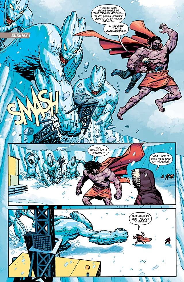 click for super-sized previews of Wonder Woman (2011-) #16