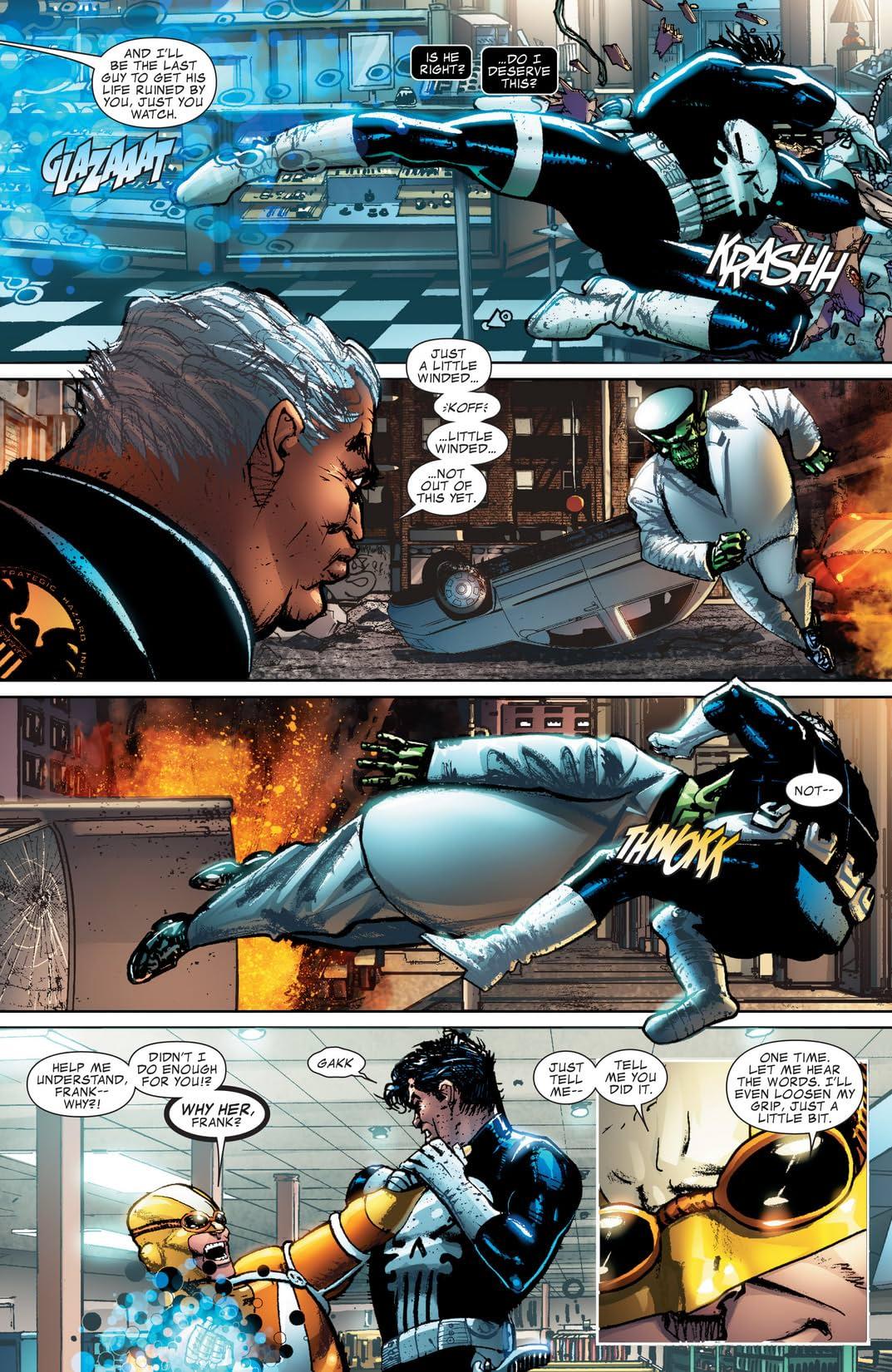 Punisher War Journal (2006-2009) #25