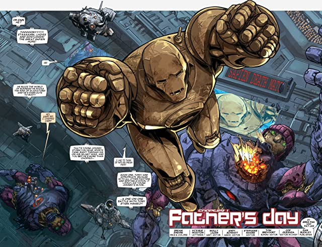 click for super-sized previews of Iron Man: House Of M #1 (of 3)