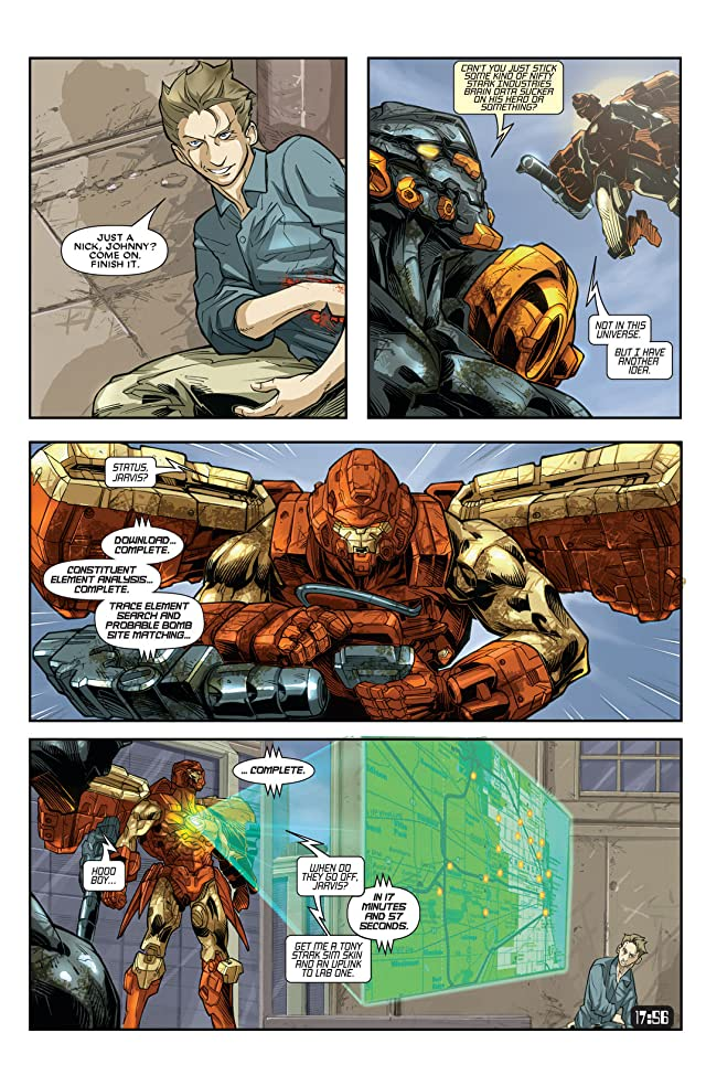 click for super-sized previews of Iron Man: House Of M #3 (of 3)