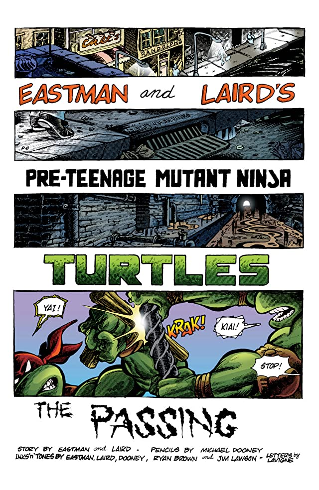 Teenage Mutant Ninja Turtles: Color Classics #9