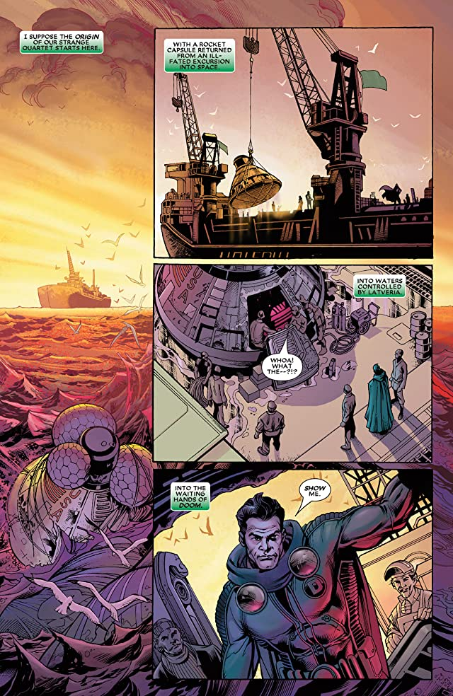 click for super-sized previews of Fantastic Four: House Of M #2
