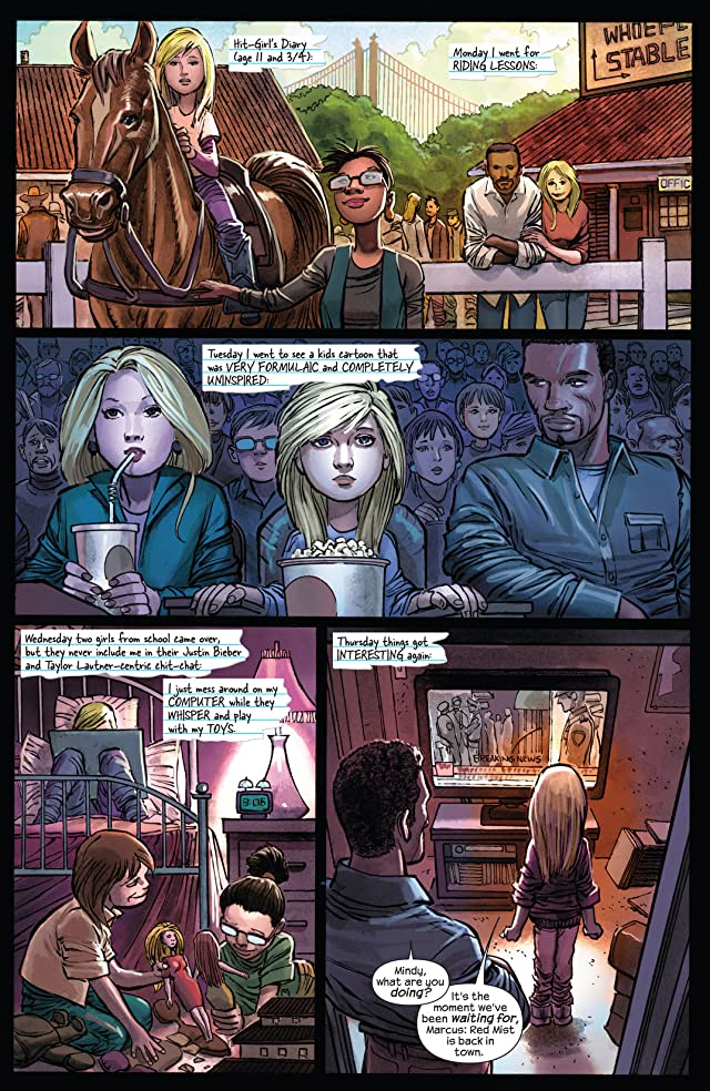 click for super-sized previews of Kick-Ass 2 #4