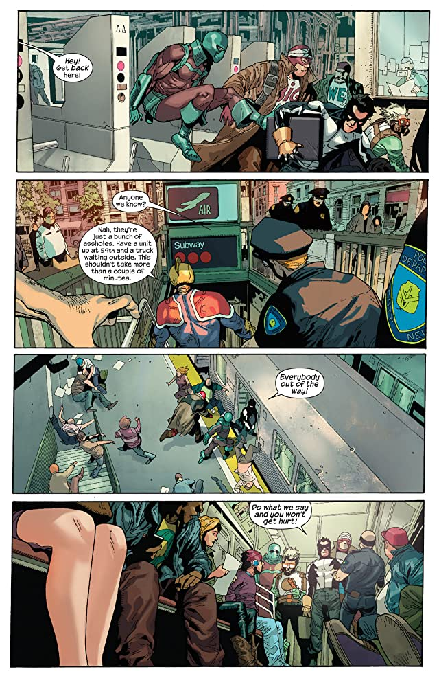 click for super-sized previews of Supercrooks #1 (of 4)