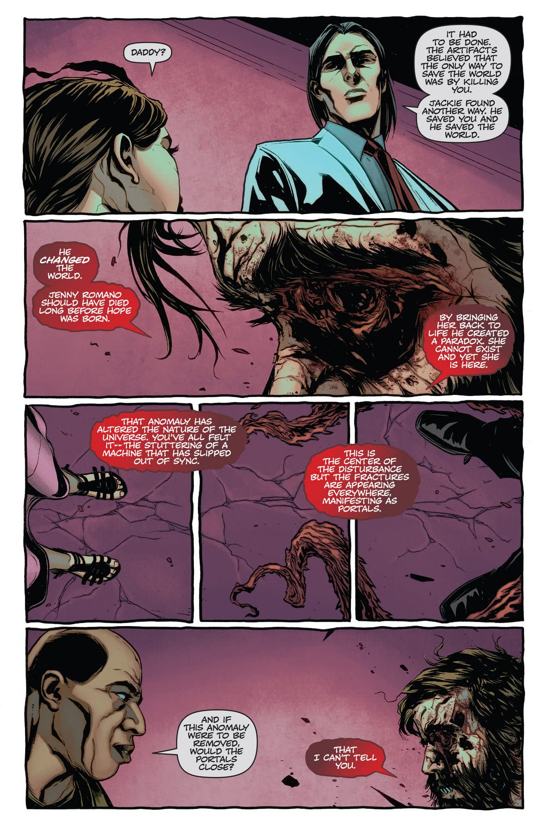The Darkness #110