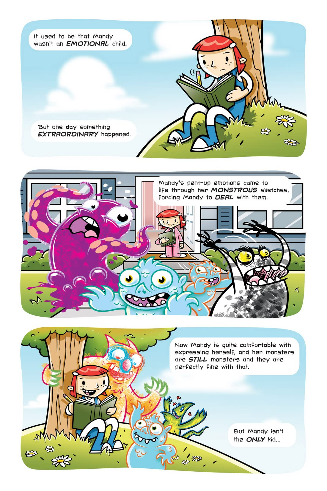 Sketch Monsters Vol. 2: New Kid